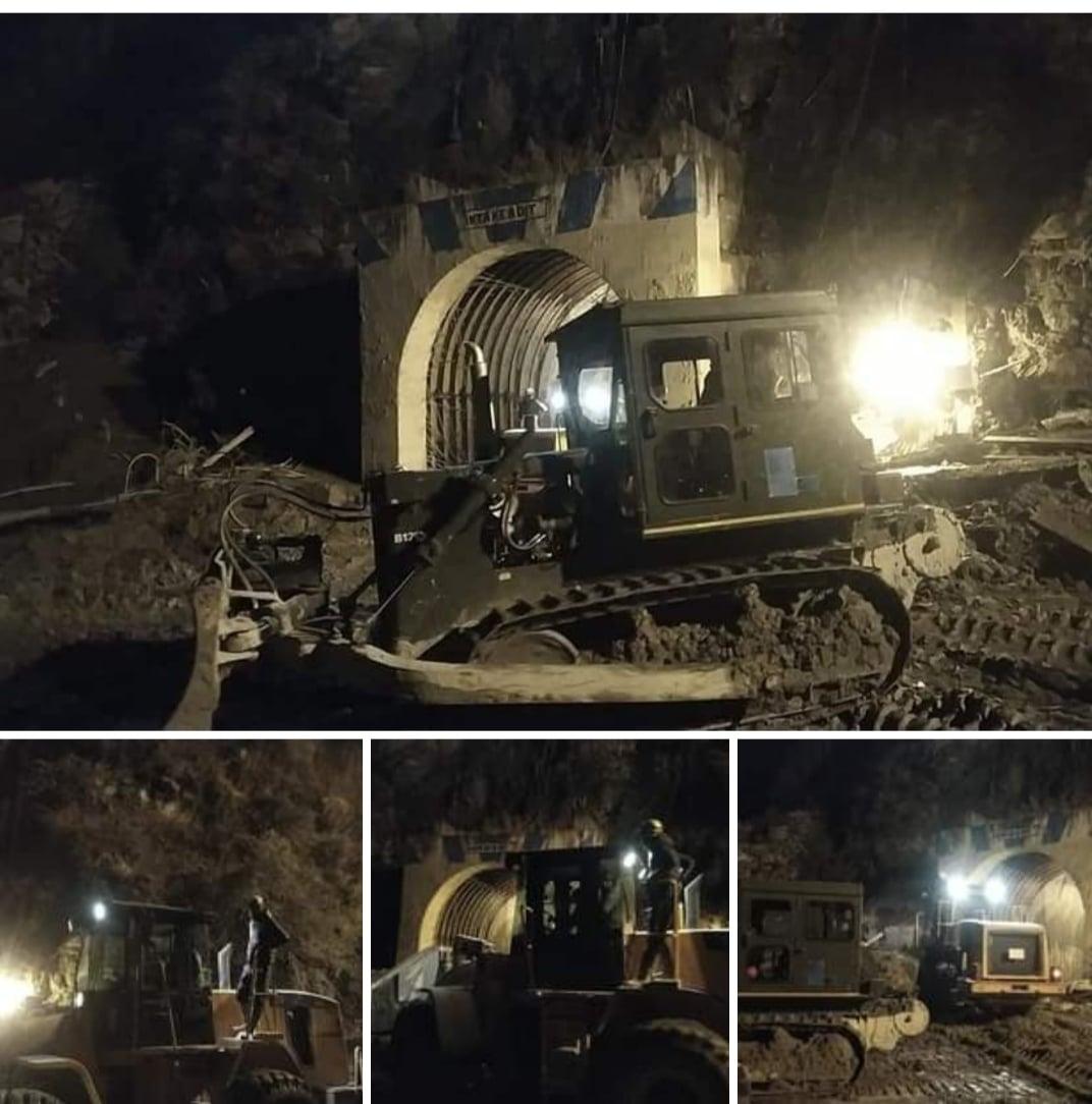 chamoli tunnel tapovan