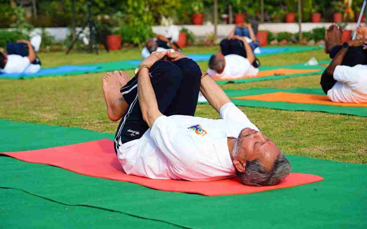 cm tirath singh rawat on yoga day