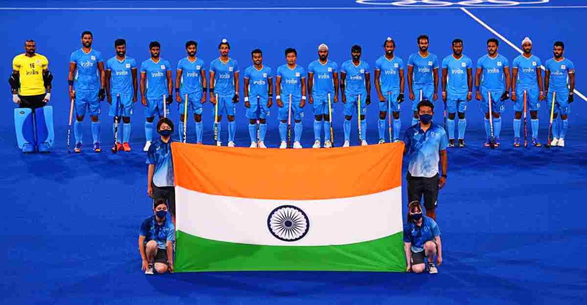 indian belgium hockey match