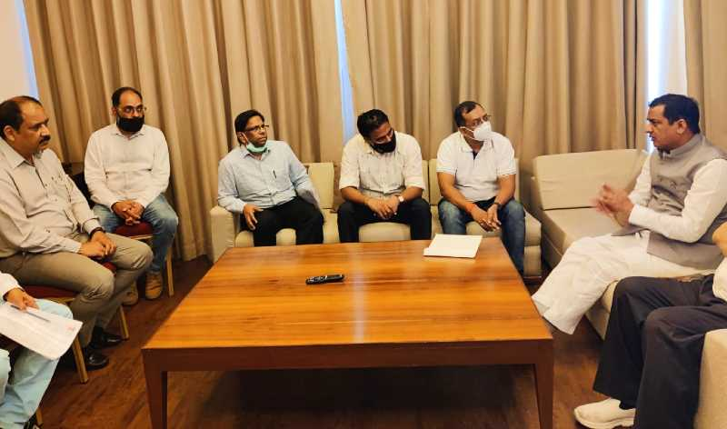 anil baluni meeting about mohand daatkali mobile network